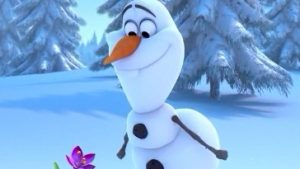 olaf the snowman wallpaper