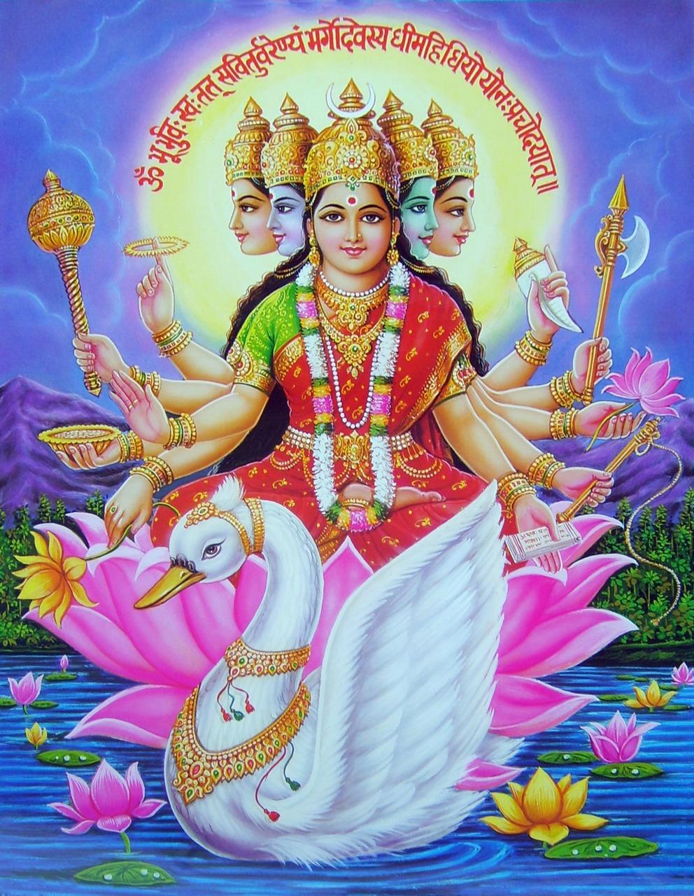 DEVI-LAKSHMI-DURGA-KALI-SARASVATI-OM-wallpaper-wp6002962