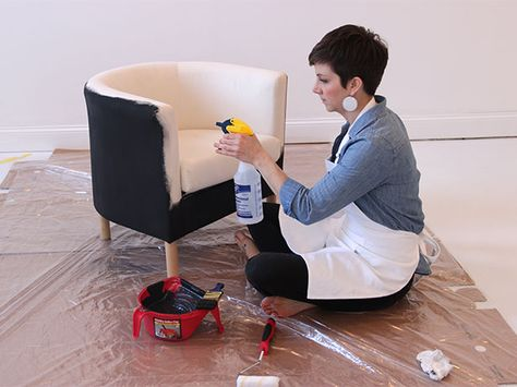 DIY-Network-shows-you-how-to-use-paint-to-make-over-a-fabric-chair-for-a-dramatic-transformation-on-wallpaper-wp3005055