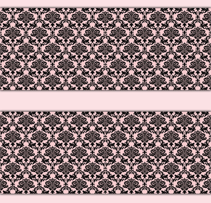 Damask-Border-Pink-Black-Wall-Art-Decals-Girl-Nursery-Stickers-Decor-decampstudios-Frenc-wallpaper-wp5205578