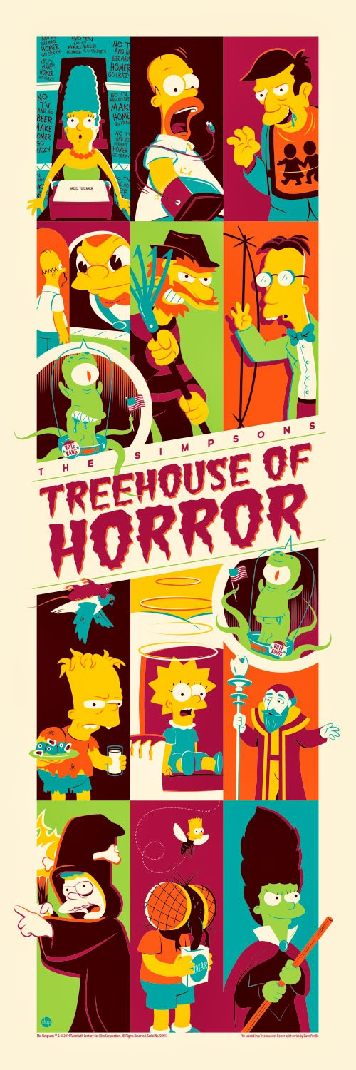 Dave-Perillo-Simpsons-Treehouse-of-Horrors-Poster-wallpaper-wp4605228