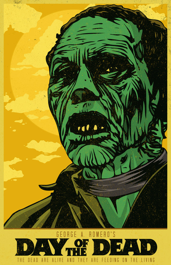 Day-of-the-Dead-x-Inch-Poster-George-A-by-MattPepplerArt-zombie-poster-dayofthede-wallpaper-wp4605239