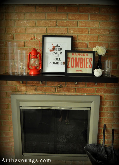 Decorating-mantle-Basement-Men-cave-and-zombies-wallpaper-wp5805002