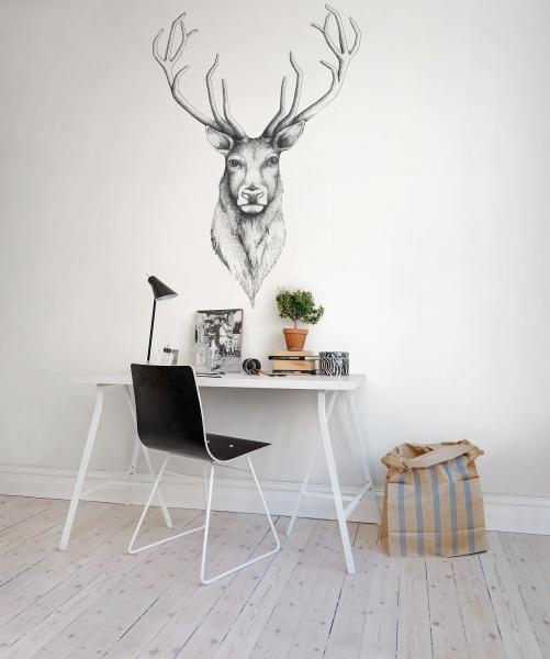 Deer-head-Brother-Dear-by-Linn-Warme-rebelwalls-wallmurals-deer-wallpaper-wp5205706