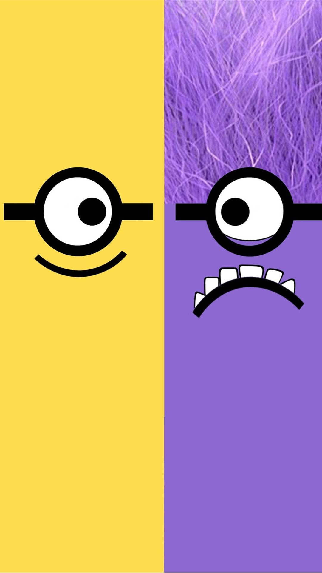 Despicable-Me-yellow-and-purple-minion-iphone-plus-HD-for-Hallow-wallpaper-wp5805084