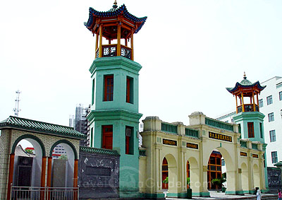 Dongguan-Mosque-Xining-China-wallpaper-wp3005126