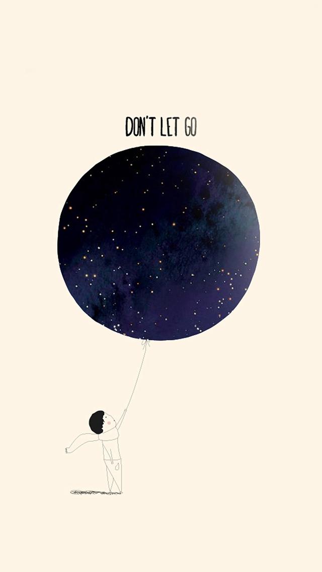 Dont-Let-Go-Illustration-Minimal-Art-iPhone-s-wallpaper-wp425007-1