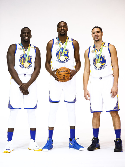 Dray-KD-and-Klay-Warriors-Media-Day-wallpaper-wp3405087
