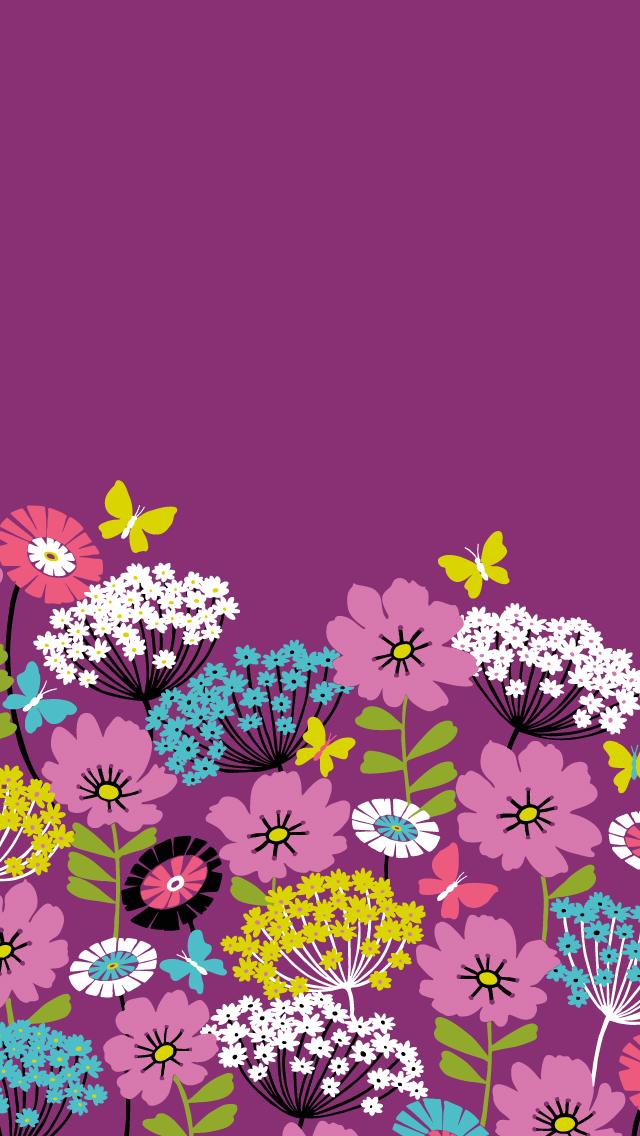 Dress-your-tech-Flutterby-Mobile-Vera-Bradley-wallpaper-wp425044