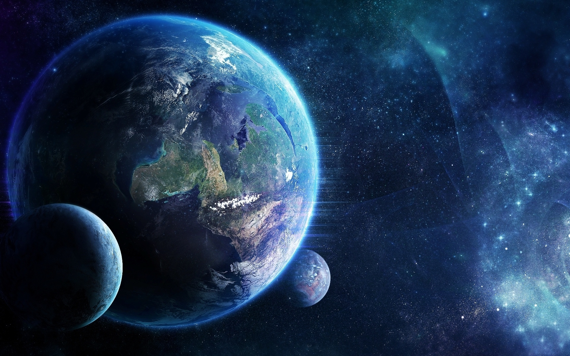 Earth-Moving-in-Space-with-Small-Planets-Photo-and-Desktop-wallpaper-wp3405155
