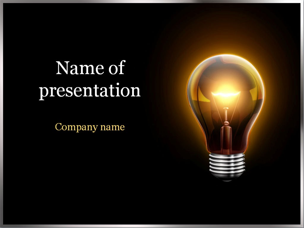 Electric-Light-PowerPoint-Template-wallpaper-wp4806175
