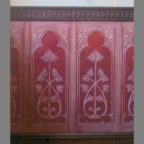 Embossed-paintable-Gothic-Style-Clic-dado-panels-Paint-Designer-Wallcoverings%E2%84%A2-wallpaper-wp5007126