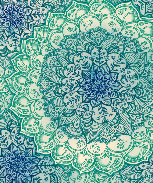 Emerald-Doodle-Art-Print-by-Micklyn-Society-wallpaper-wp425152-1