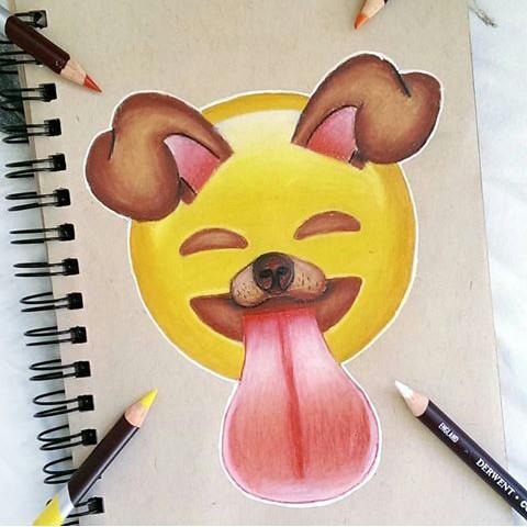 Emojis-Draw-A-Dog-wallpaper-wp5604617