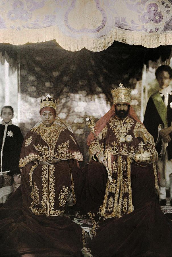 Emperor-Haile-Selassie-I-Empress-Menen-Asfaw-last-ruling-monarchs-of-Ethiopia-wallpaper-wp4605661