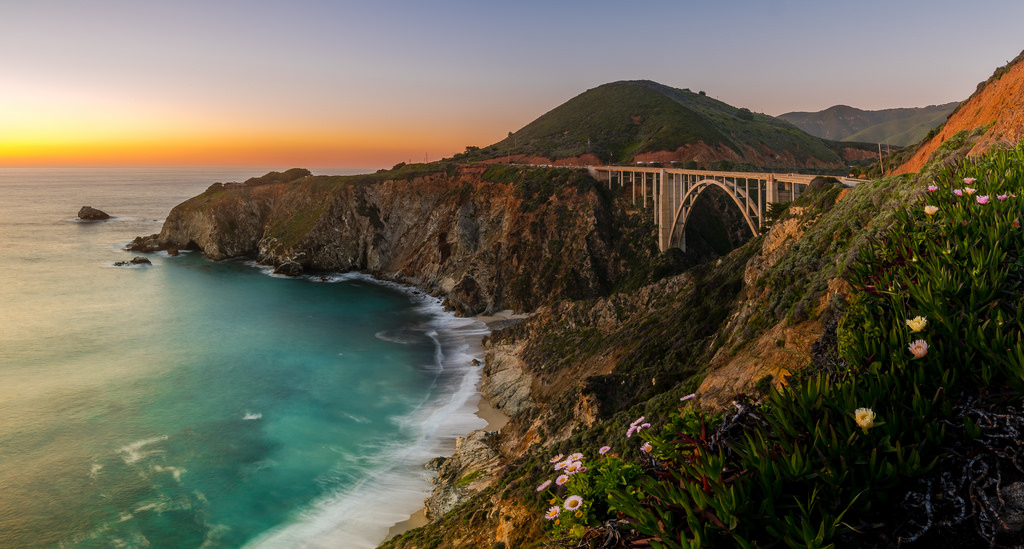 Evening-at-the-Bixby-Bridge-In-Explore-April-th-by-Gaurav-Agrawal-San-Diego-wallpaper-wp3405277