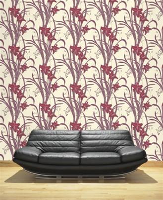 FLOURISH-Print-in-Plum-design-by-Linda-Barker-wallpaper-wp5604894
