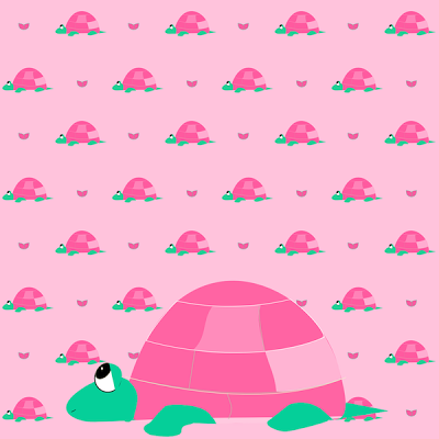 FREE-digital-pink-turtle-scrapbooking-paper-and-embellishment-gift-wrapping-paper-wallpaper-wp3005852