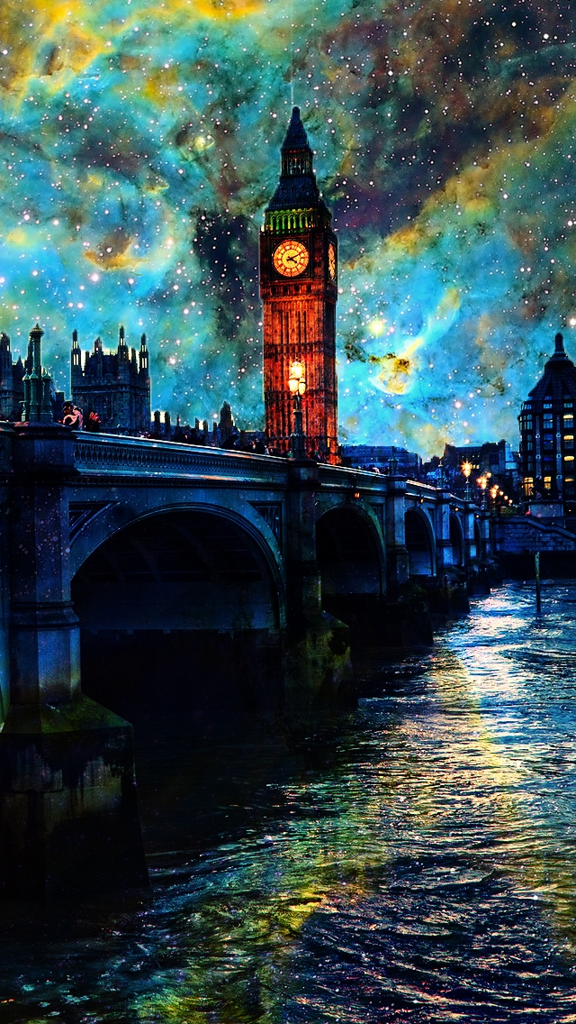 Fanasy-Night-In-London-iPhone-s-Wallpaper-wallpaper-wp4806341
