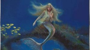 Mermaid kertas dinding