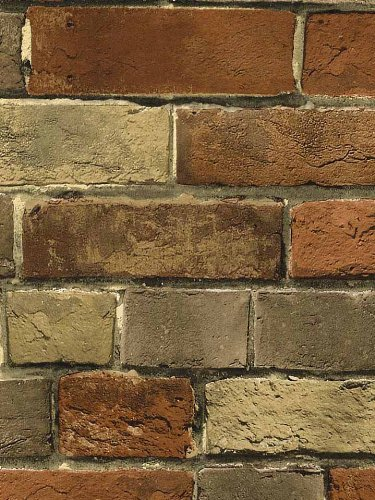 Faux-Rust-Tuscan-Brick-Wall-Looks-Real-Up-Norwall-http-www-amazon-com-dp-BDFMU-re-wallpaper-wp520714