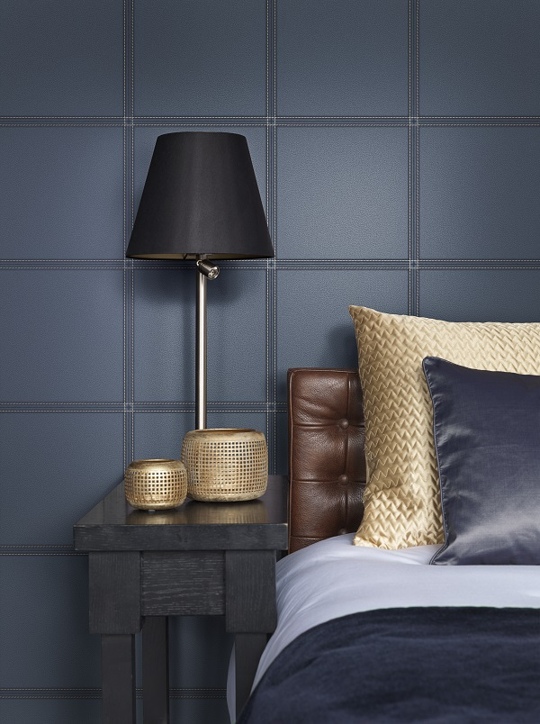 Faux-leather-in-navy-for-masculine-style-wallpaper-wp5604741