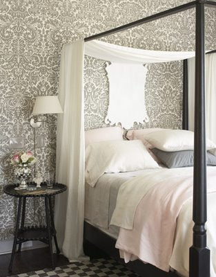 Feminine-pink-and-grey-bedroom-wallpaper-wp4605886