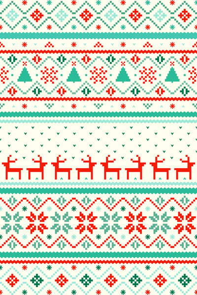 Festive-Fair-Isle-by-Tracie-Andrews-wallpaper-wp5007480