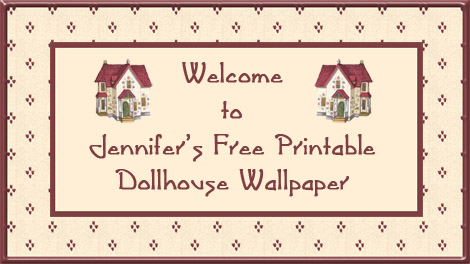 dollhouse wall printable