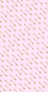 Free-Glam-iPhone-Soft-Pink-Gold-Arrows-wallpaper-wp3005868