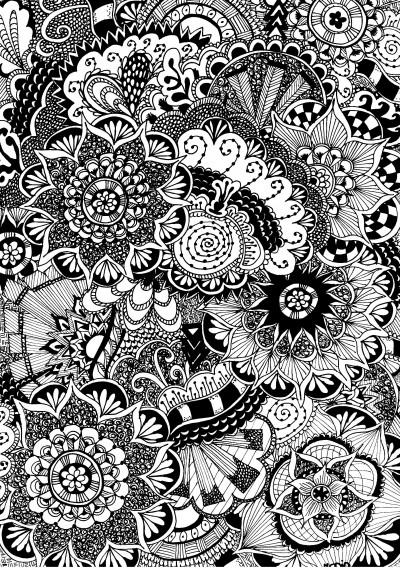 Free-coloring-page-for-adults-Flowers-with-doodles-Zentangle-flowers-Gratis-kleurplaat-voor-volwa-wallpaper-wp4606008-2