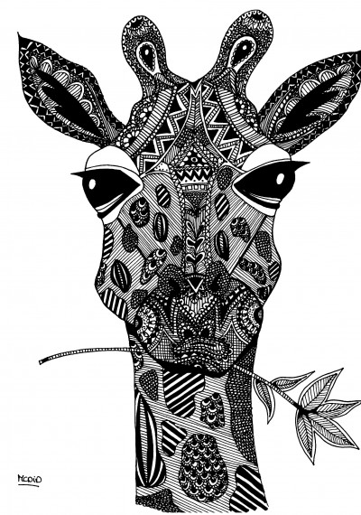 Free-coloring-page-for-adults-Giraf-with-doodles-Zentangle-Giraf-Gratis-kleurplaat-voor-volwassen-wallpaper-wp4606009-2