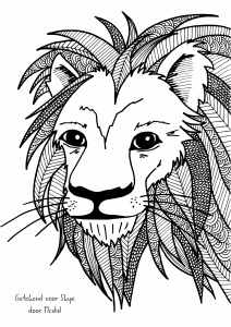 Free-lion-printable-for-a-boys-room-Or-a-coloring-page-for-adults-Gratis-leeuw-tekening-Kleurplaa-wallpaper-wp4606028-2
