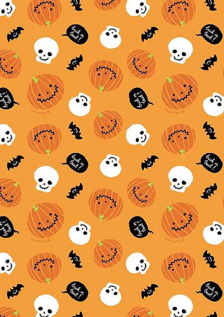 Ghosts-Bats-and-pumpkin-iPhone-background-wallpaper-wp4407383