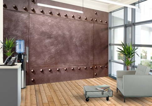 Give-an-industrial-look-to-your-interior-with-the-Bolt-Plate-wallpaper-wp5008007