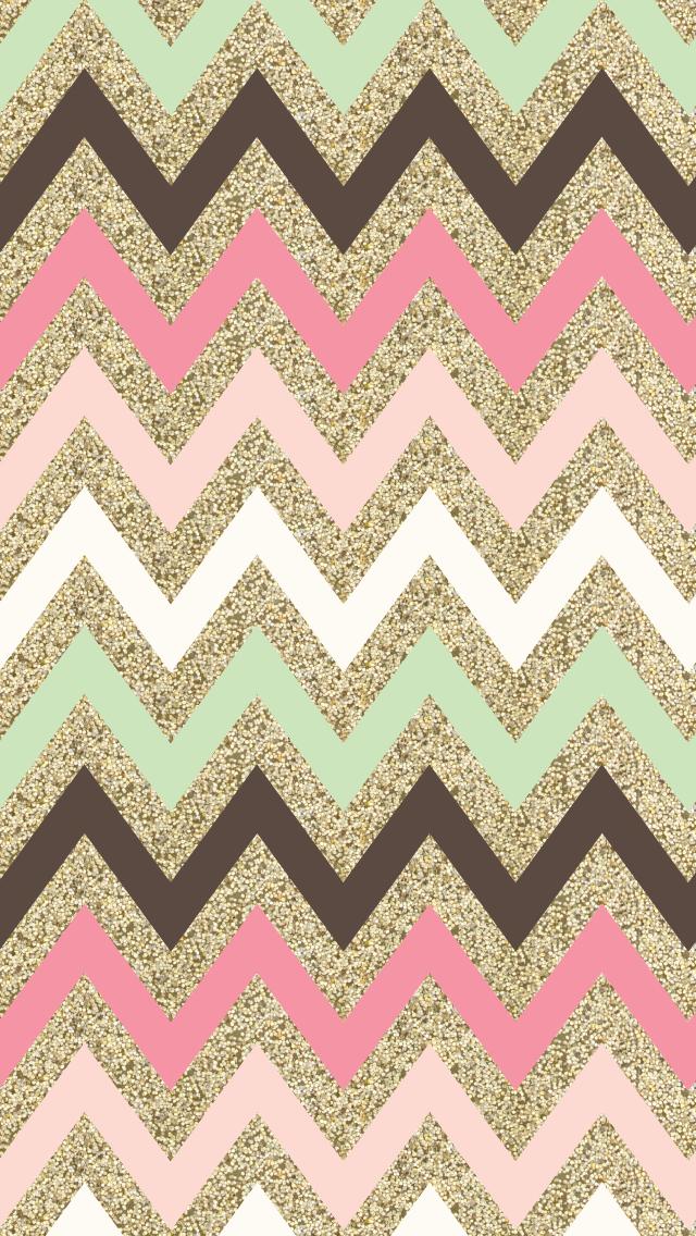 Glitter-chevron-iphone-wallpaper-wp5008018