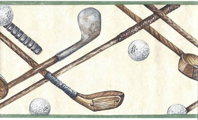 Golf-Balls-Clubs-Lattice-on-Beige-Border-Eisenhart-wallpaper-wp425764-2