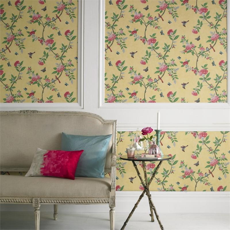 Graham-Brown-cm-x-m-Chinoiserie-Yellow-artanddesign-peony-british-wallpaper-wp5405364