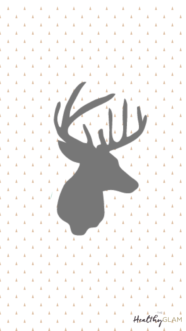 Gray-and-gold-Christmas-reindeer-wallpaper-wp4606417