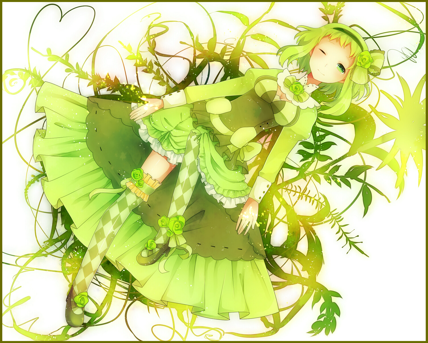 Gumi-in-green-dress-wallpaper-wp5806204