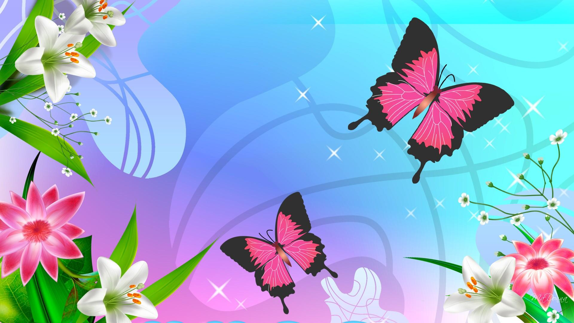 HD-Adoring-Pink-Butterflies-wallpaper-wp5008406