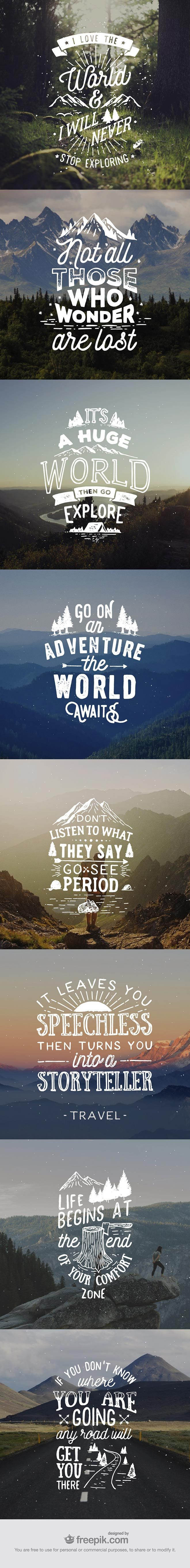 Hand-Lettered-Travel-Quotes-wallpaper-wp3006429