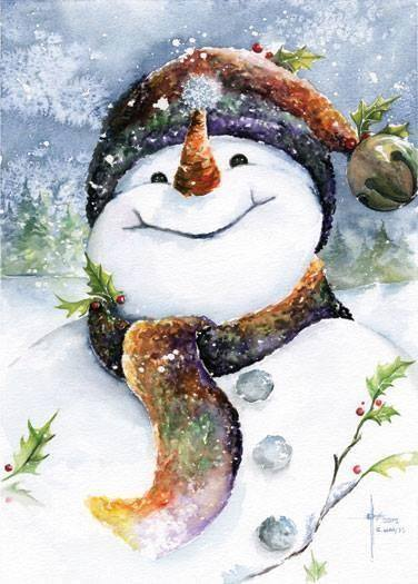 Happy-Snowman-wallpaper-wp4606602
