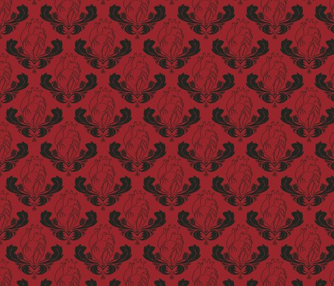 Hearts-Thistles-http-www-spoonflower-com-fabric-wallpaper-wp3006562