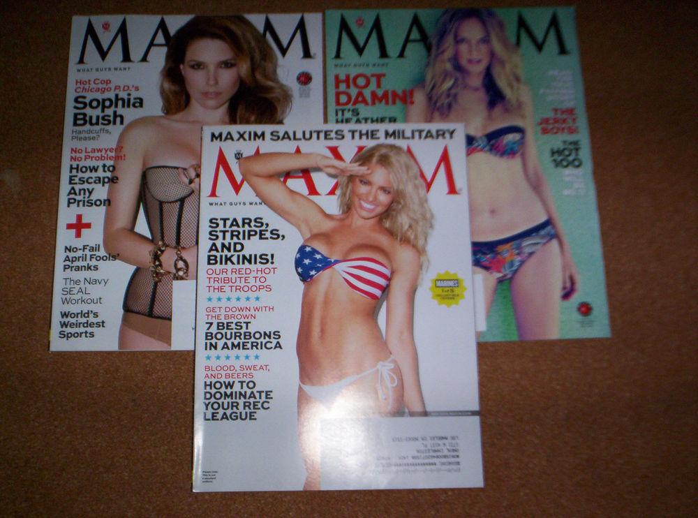 Heather-Graham-Sophia-Bush-Military-cover-Maxim-magazines-Very-Good-wallpaper-wp5207383