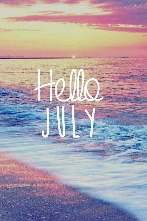 Hello July Wallpaper Wp540229
