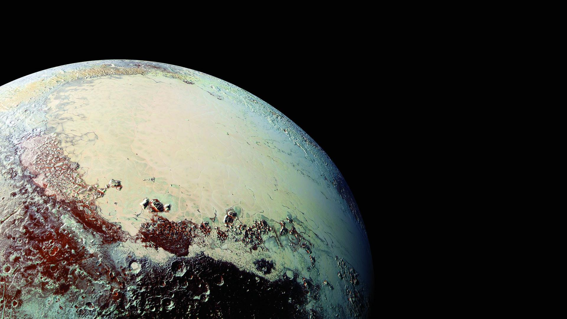Here-s-the-recently-released-image-of-Pluto-from-km-in-desktop-background-form-1920-x-1080-wallpaper-wp3406843
