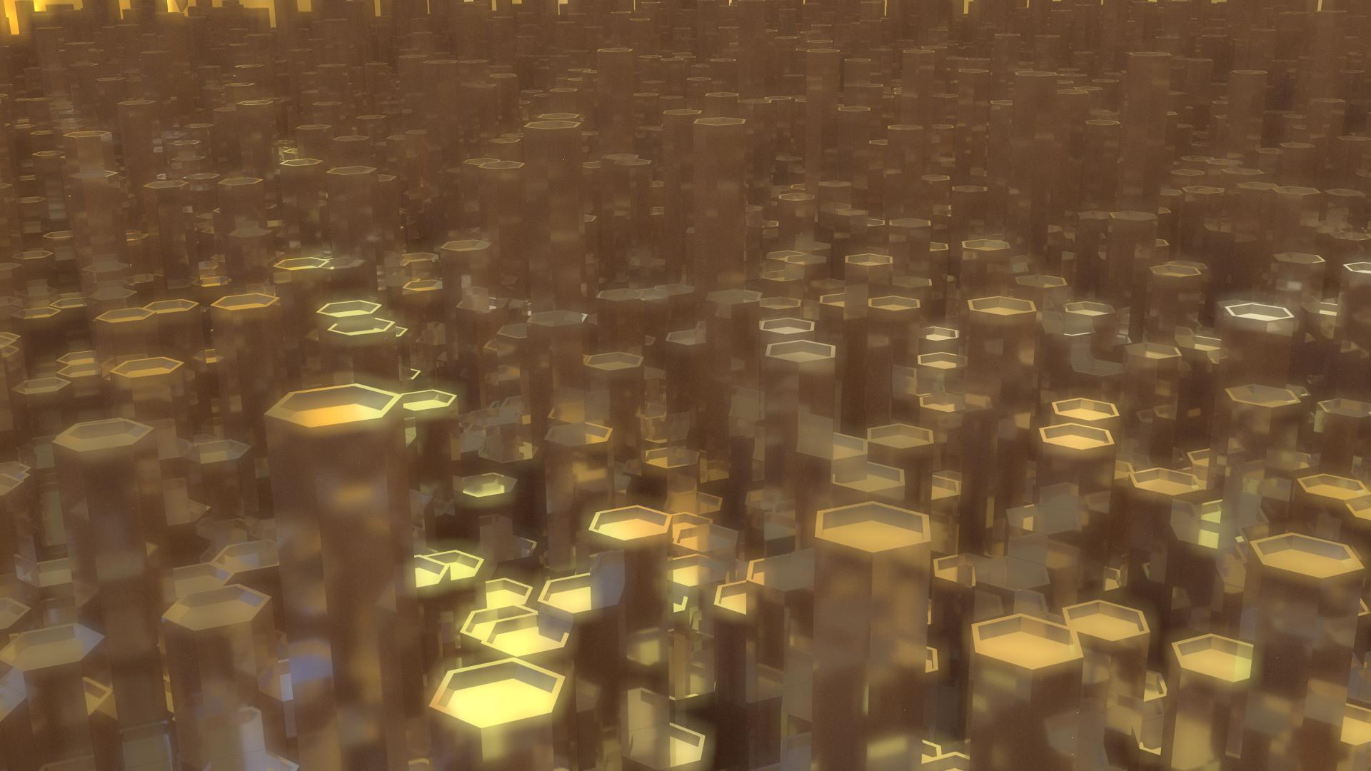 Hexagons-in-the-Sunset-x-OC-wallpaper-wp5207461