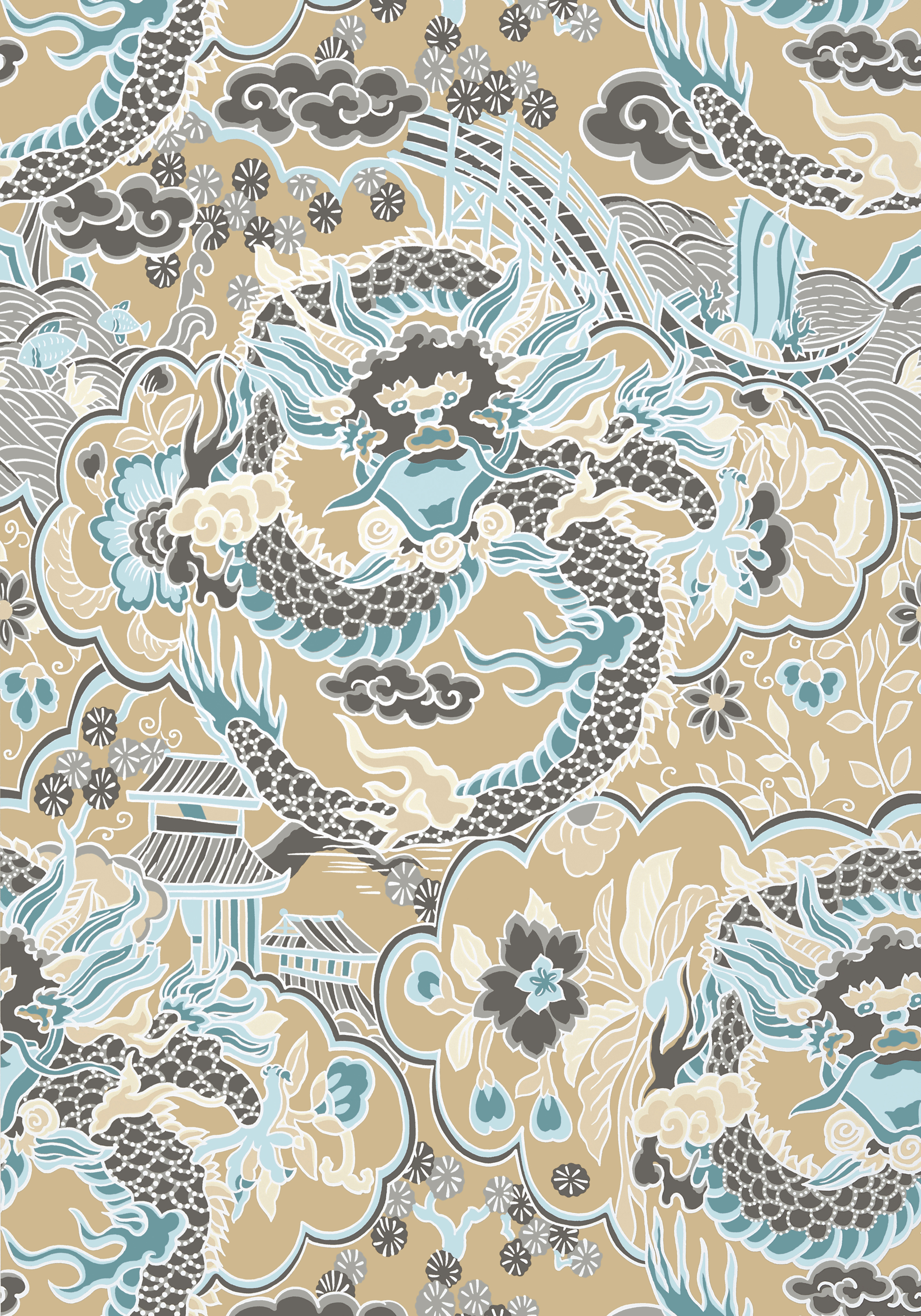 IMPERIAL-DRAGON-Aqua-and-Beige-T-Collection-Imperial-Garden-from-Thibaut-wallpaper-wp5406160