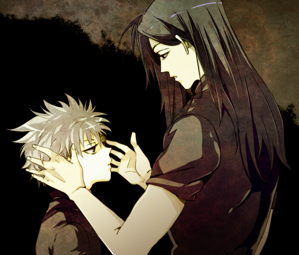 Illumi And Killua Hunter X HunterZoldyck Family